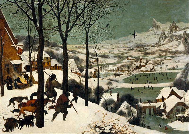 800px pieter bruegel the elder   hunters in the snow (winter)   google art project