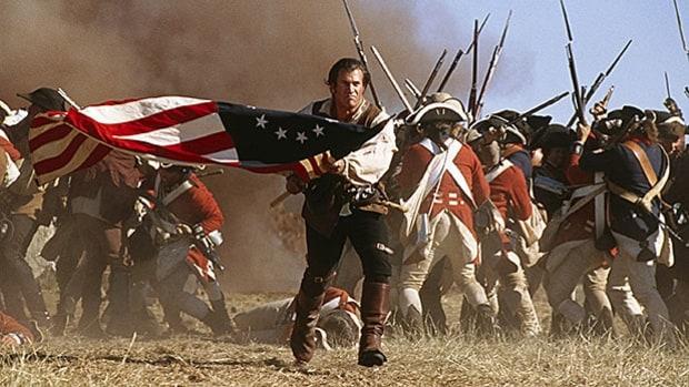 Mj 618 348 benjamin martin in the patriot patriotic film characters