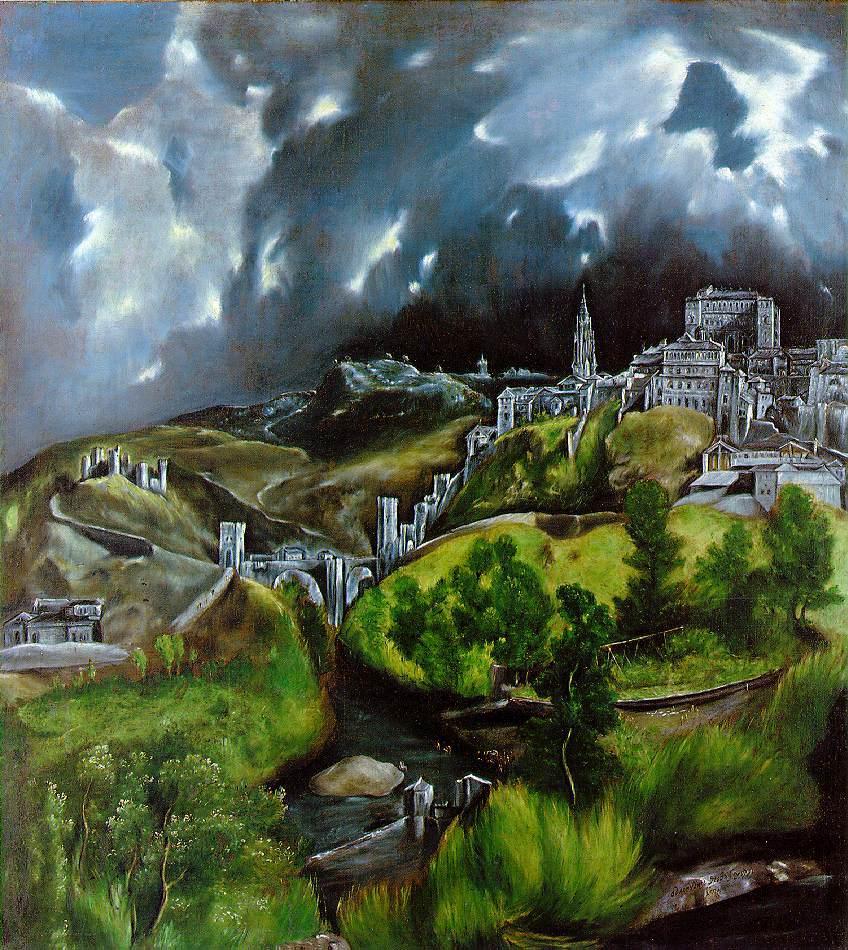 El greco view of toledo 2