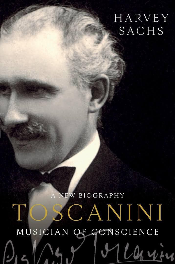 Sachs book cover on toscanini