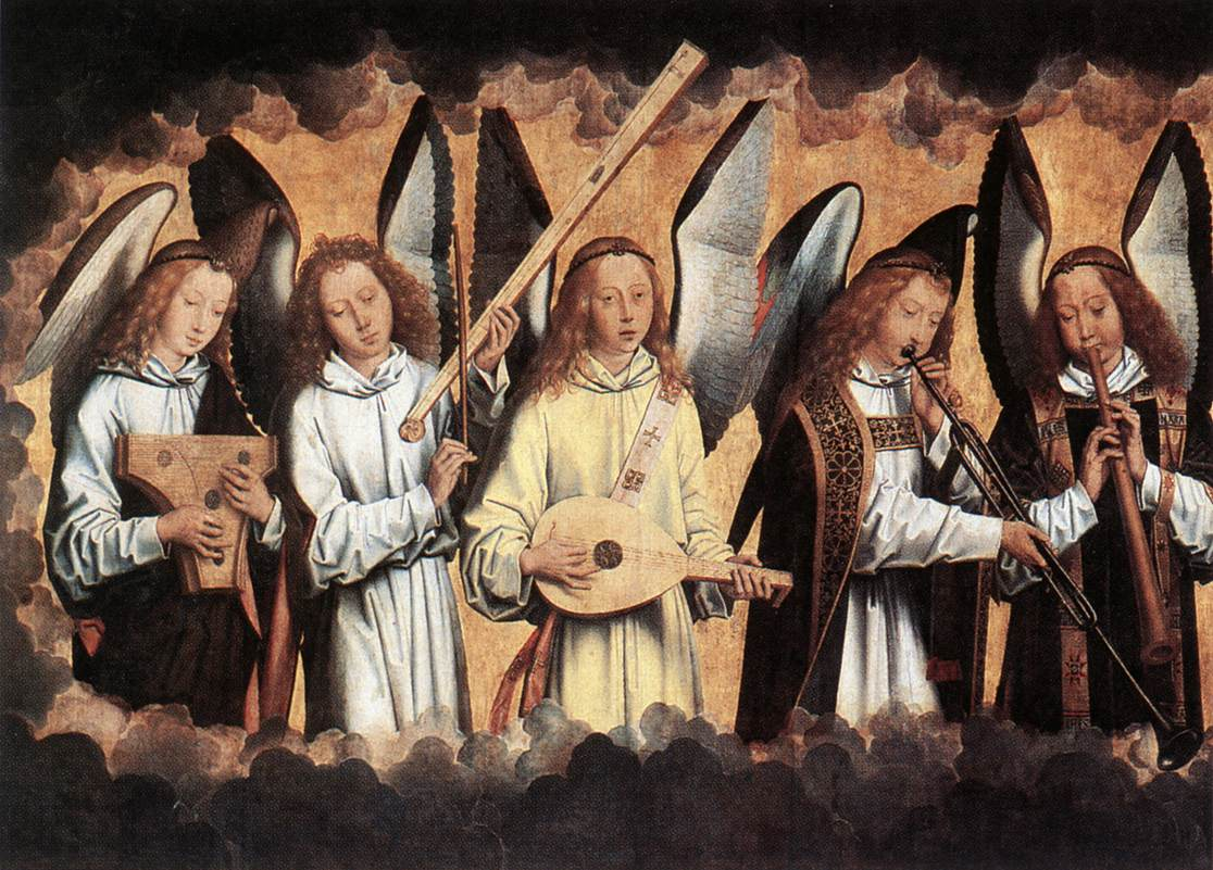 Memling angel musicians 02