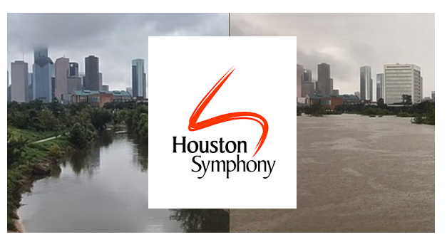 Houston before and after w houston symph logo