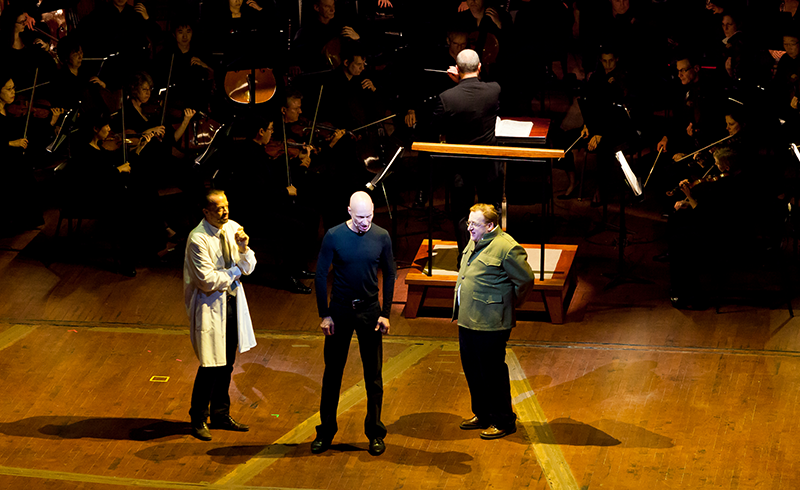 Wozzeck on stage