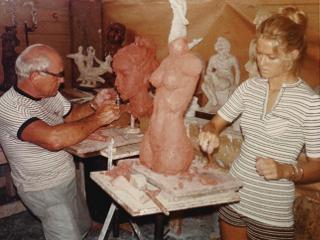 Charles umlauf farrah fawcett c  1970