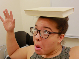Studying thumb