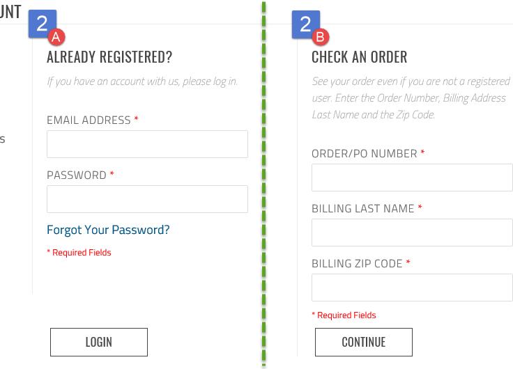 Registered or Guest