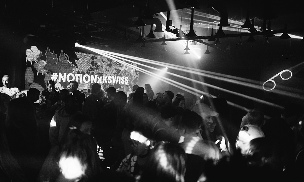 K-Swiss x Notion Party at London Fashion Week