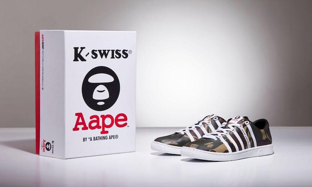 AAPE x K-Swiss