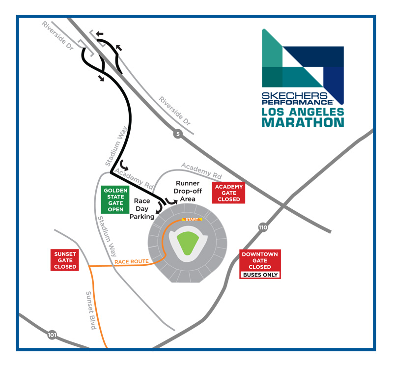 LA Marathon 2019 Road/Street Closure and Traveler Information ... on