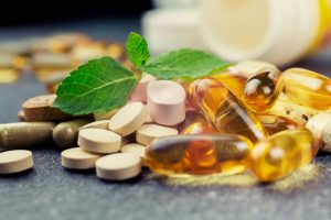Photo of various supplement pills