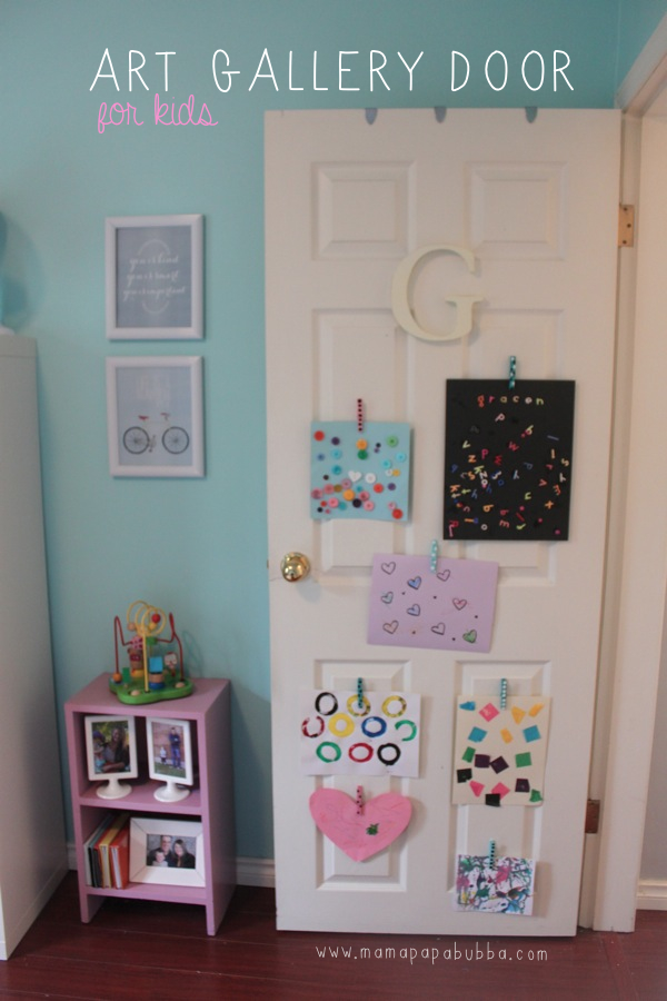 Art Gallery Door for Kids | Mama.Papa.Bubba.