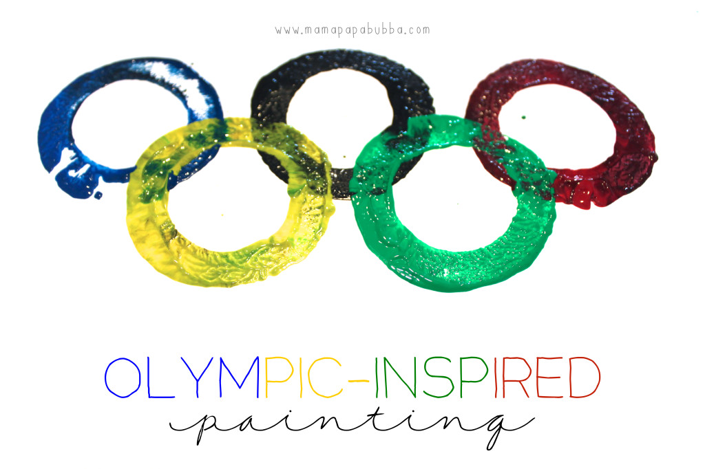 Olympic-Inspired Painting | Mama.Papa.Bubba.
