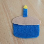 Cupcake Colour Matching Felt Board Game