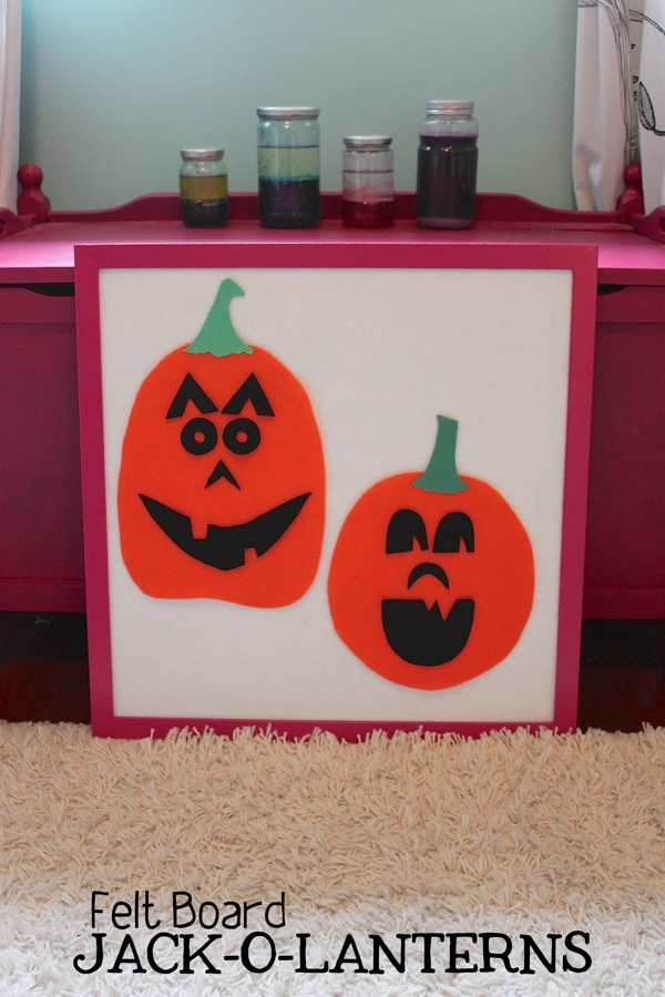 Felt Board Jackolanterns