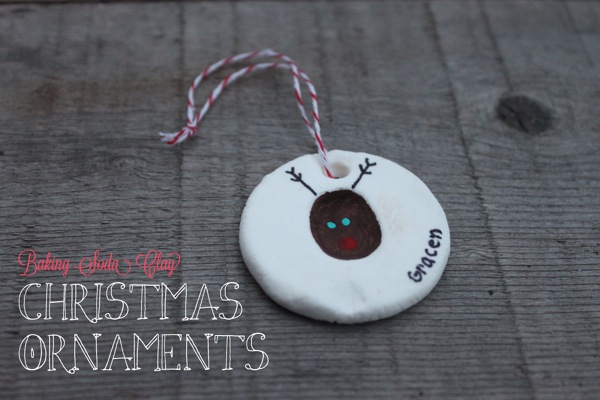 Baking Soda Clay Ornaments  MamaPapaBubba