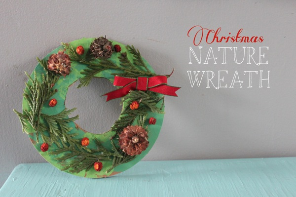 Christmas Nature Wreath