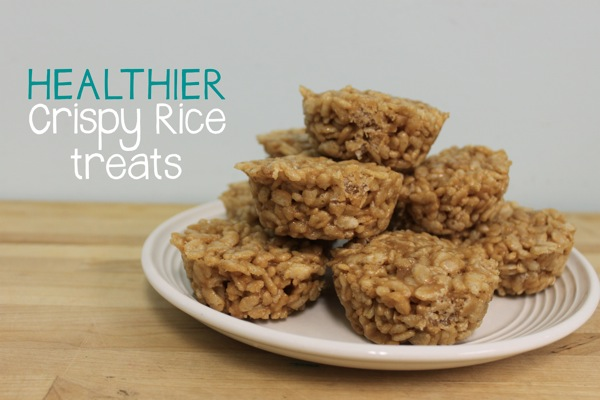 Healthier Crispy Rice Treats