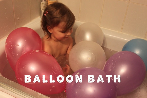 Balloon Bath
