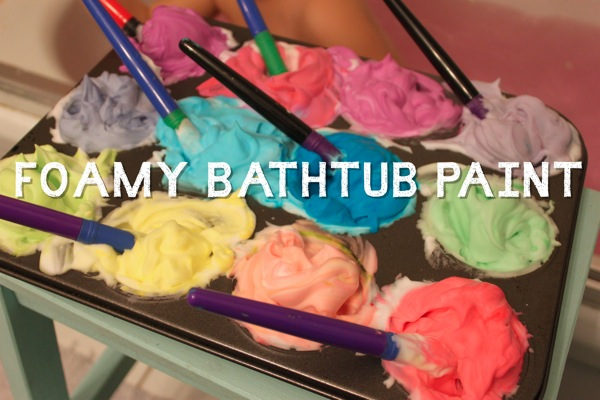 Foamy Bathtub Paint