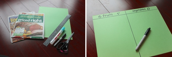 Fruit and Vegetable Sorting | Mama Papa Bubba