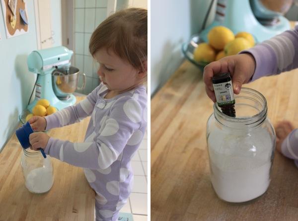 Dishwasher Detergent Prep