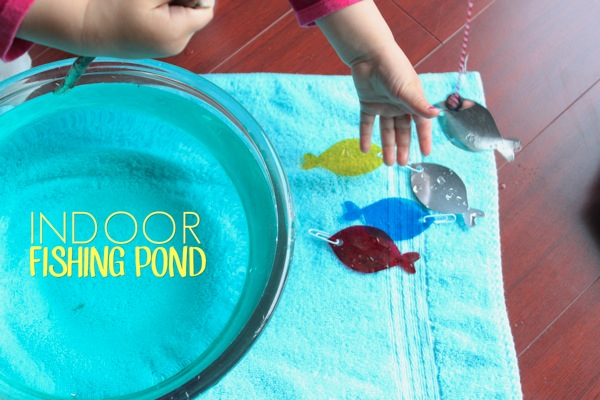 Indoor Fishing Pond | Mama Papa Bubba