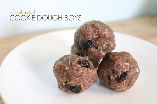 Nutrient Packed Cookie Dough Boys | Mama Papa Bubba