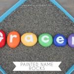 Painted Name Rocks