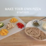 Make Your Own Pizza Station