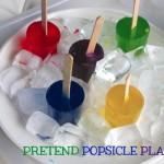 Pretend Popsicle Play