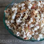 Apple Crumble Dessert Popcorn