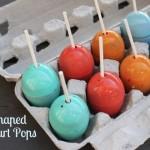 Egg-Shaped Yogurt Pops