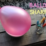 Balloons and Sharpies: A Creative Table