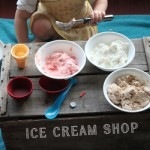 Ice Cream Shop {Using Ice Cream Dough}