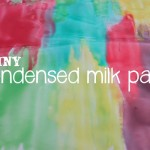Shiny Condensed Milk Paint