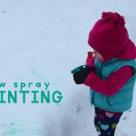 Snow Spray Painting