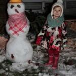 A First: Snowman Building