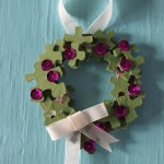 Puzzle Piece Wreath Ornament