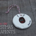 Baking Soda Clay Ornaments