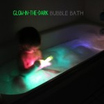 Glow-in-the-Dark Bubble Bath