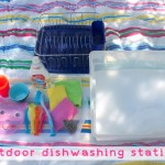 Outdoor Dishwashing Station