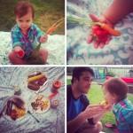 iPhoneography // Garden Goodies & An Outdoor Dinner