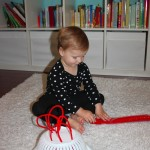 Simple Fun: Pipe Cleaners Paired with a Strainer