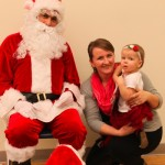 Santa Visits Family Time