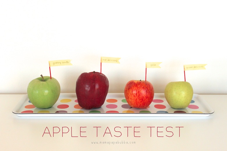 Apple Observations and a Taste Test | Mama Papa Bubba