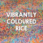Vibrantly Coloured Rice