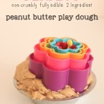 The PERFECT Peanut Butter Play Dough
