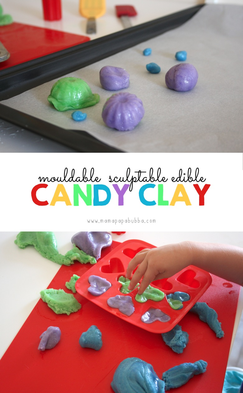 Mouldable Sculptable Edible Candy Clay | Mama Papa Bubba