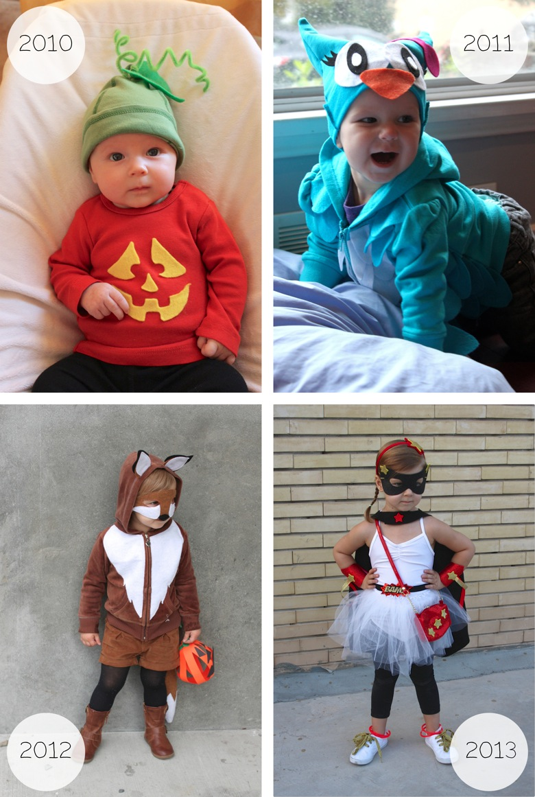Halloween Through the Years   Mama Papa Bubba