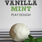 Vanilla Mint Play Dough